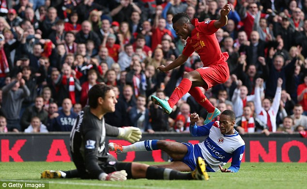 Hasil Pertandingan Liverpool vs Reading 1-0, 20 Oktober 2012