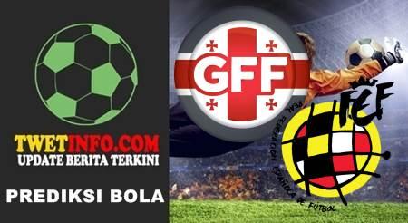 Prediksi Georgia U21 vs Spain U21