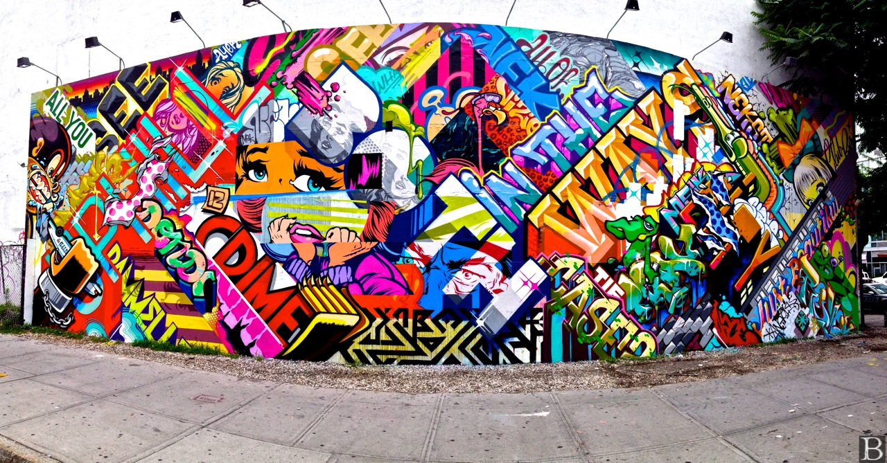 Brian kavanagh photography finished pose revok mural on for 2pac mural new york