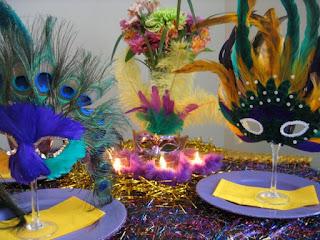 Centros de Mesa, Carnavales