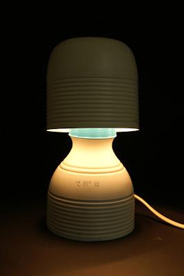 Lámpara champi-on de Nacho Timón