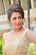 Madhu Shalini sizzling in saree-thumbnail-3
