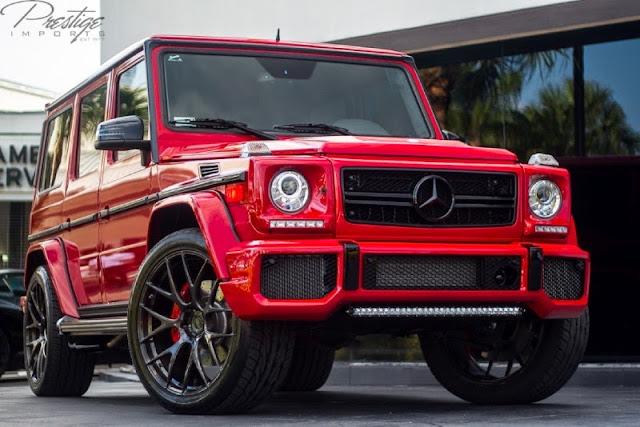 gelandewagen red
