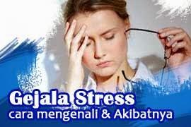 gejala stress
