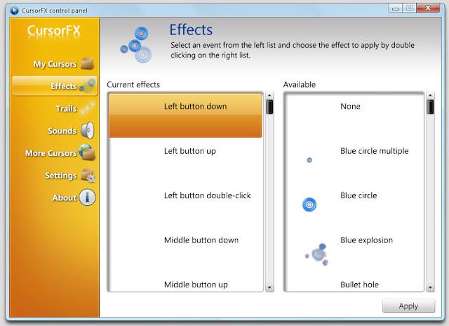 free download software cursor fx plus