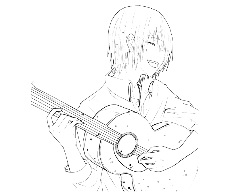 printable-tatara-totsuka-guitar-coloring-pages