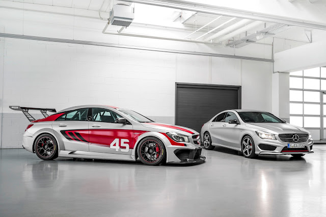 Mercedes-Benz CLA 45 AMG Racing Series at Frankfurt Motor Show 2013