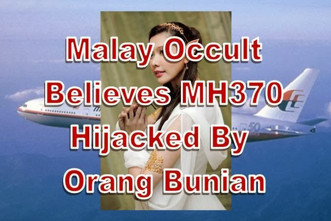 MH370 Hijacked By Elves