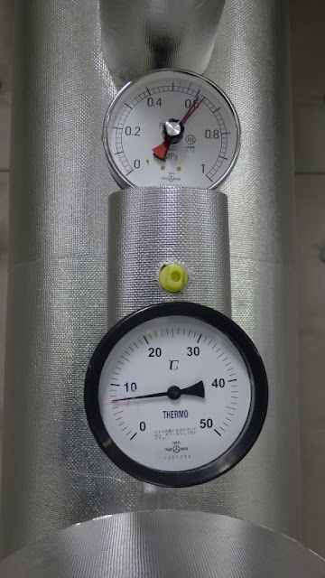 圧力計 水温計