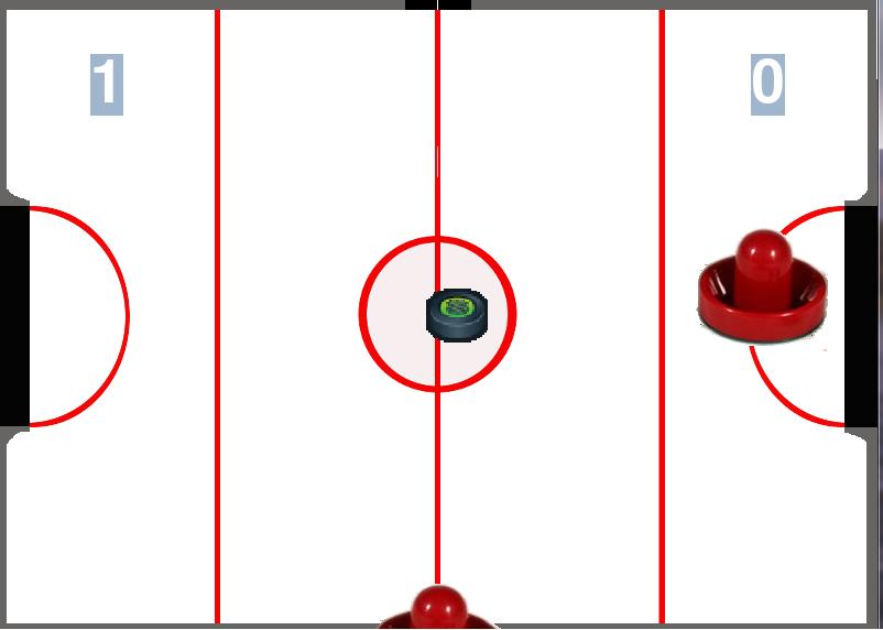 Emmanuel garc a proyecto de simulaci n air hockey - Mesa de hockey de aire ...