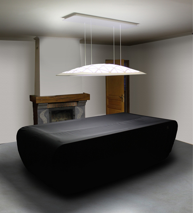 Pool Table Light Black
