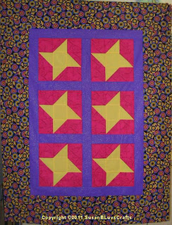 Star Lite, Star Brite quilt top - SusanB