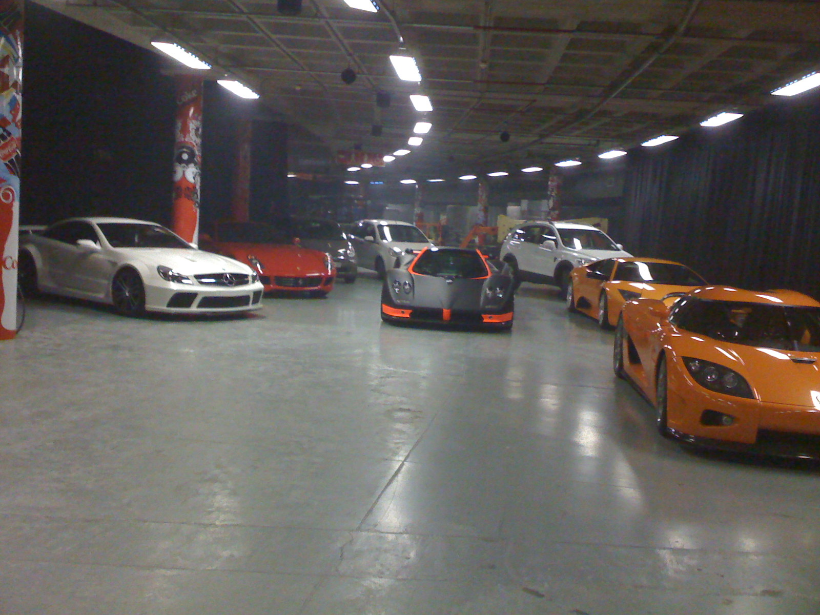 Some Of The Late Lolly Jackson's Car Collection