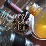 Honey Bourbon Cocktail