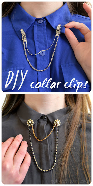 DIY Collar Clips