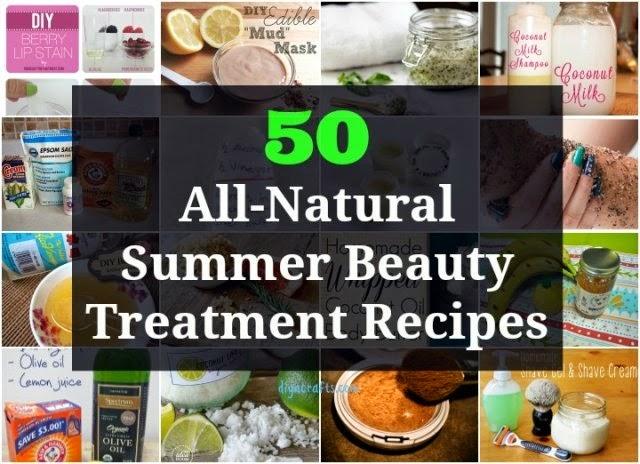 50 All-Natural Summer Beauty Treatment Recipes