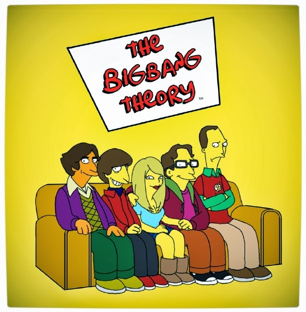 The Big Bang Theory Mashup Simpsons