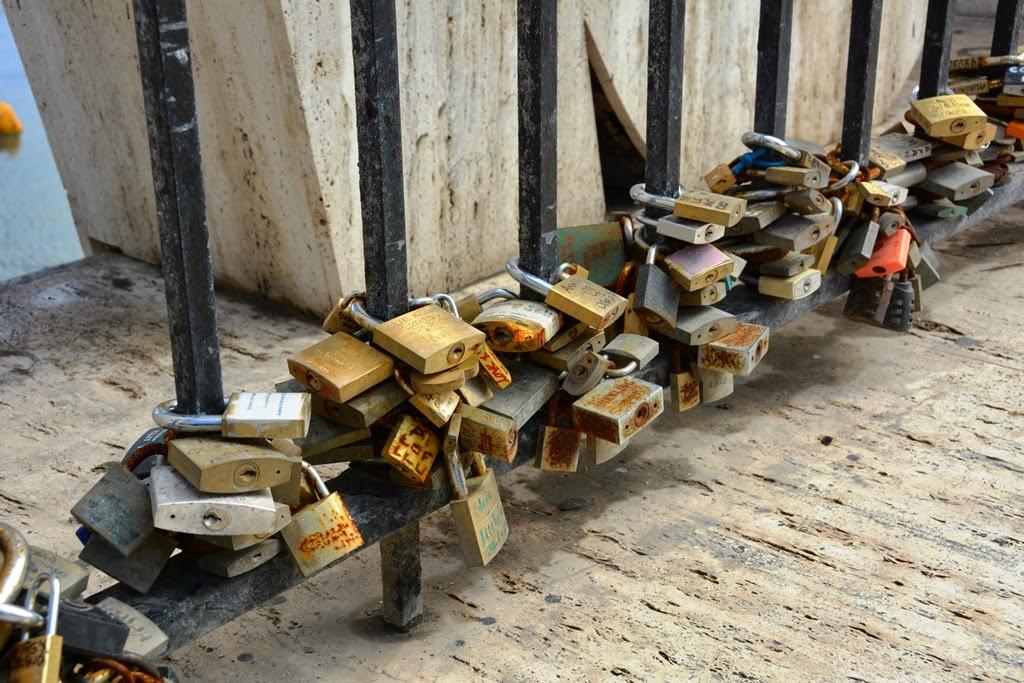 St. Julians locks lovers