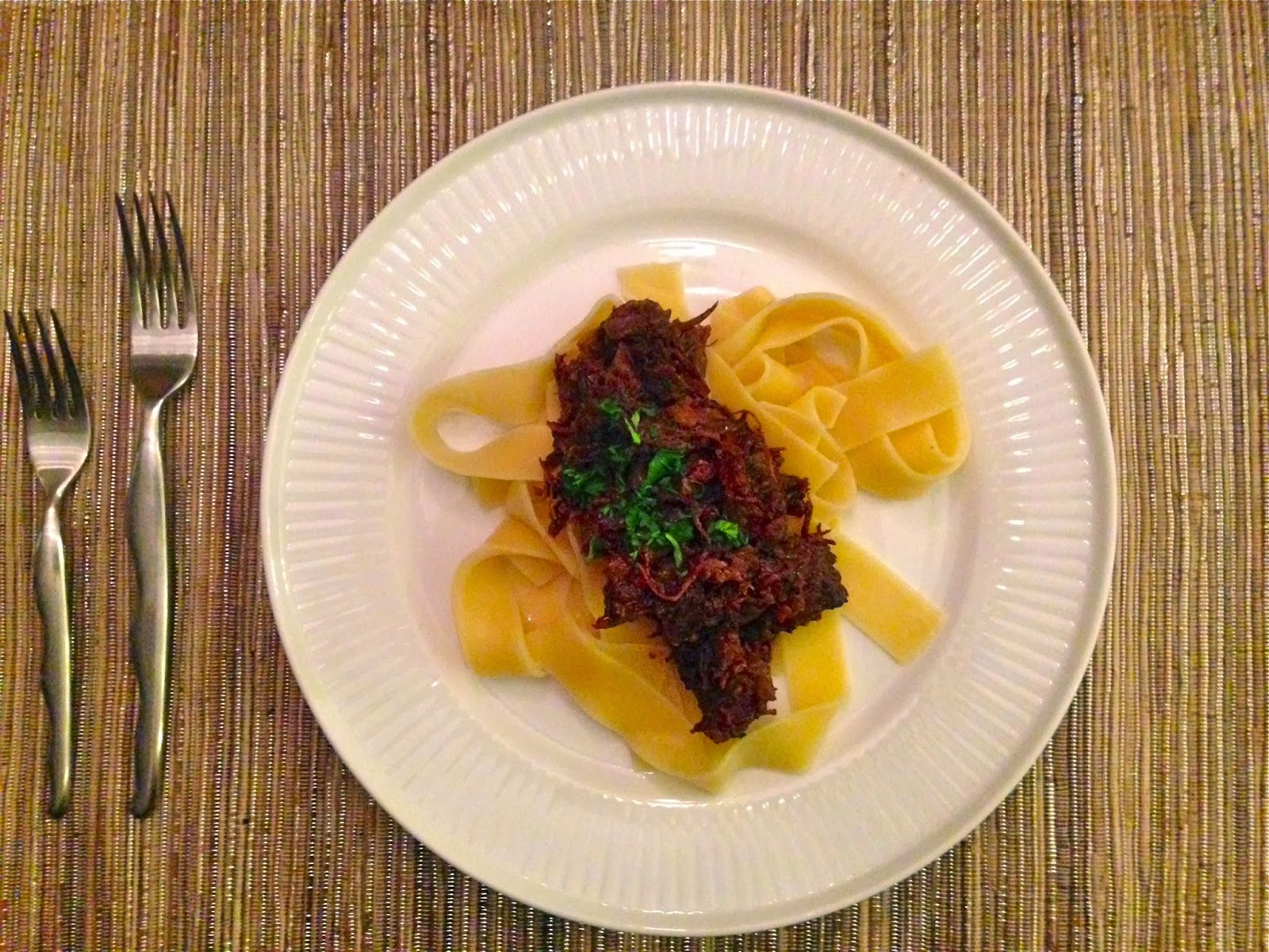 Short Rib Ragu-directions for cooking in either a slow cooker or a ...