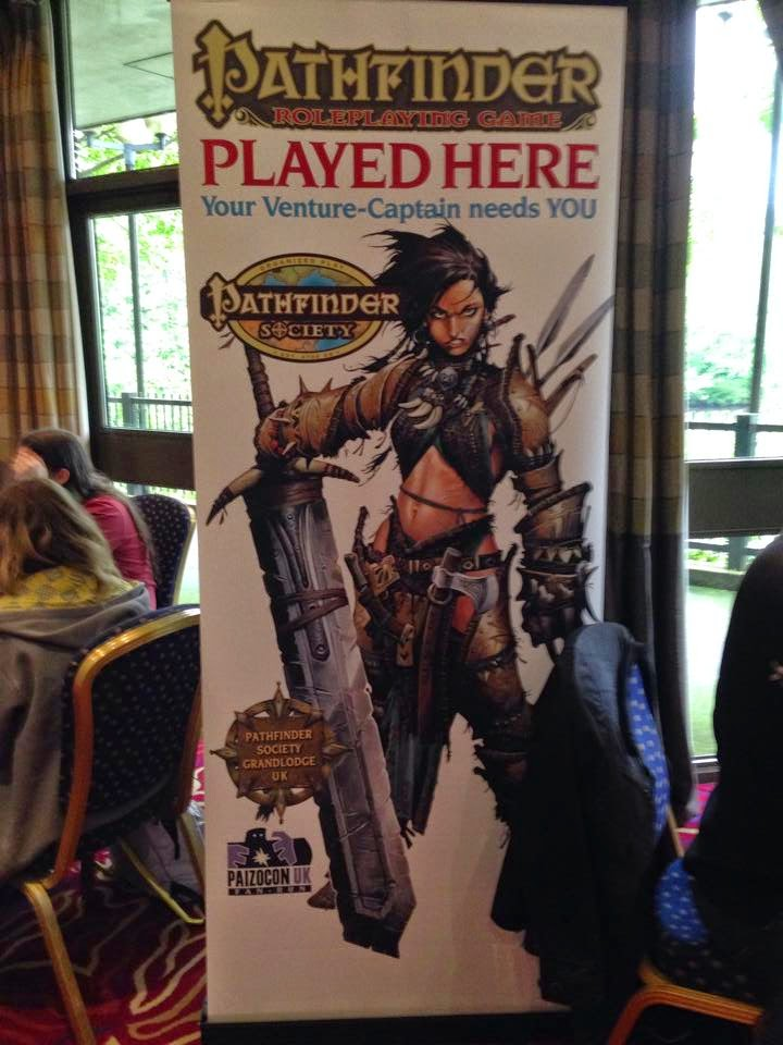 Pathfinder RPG UK Games Expo