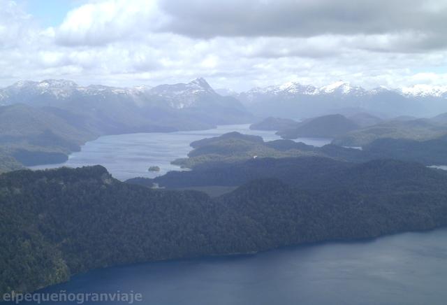 Cerro Belvedere, Villa La Angostura, 7 lagos, Lago Espejo