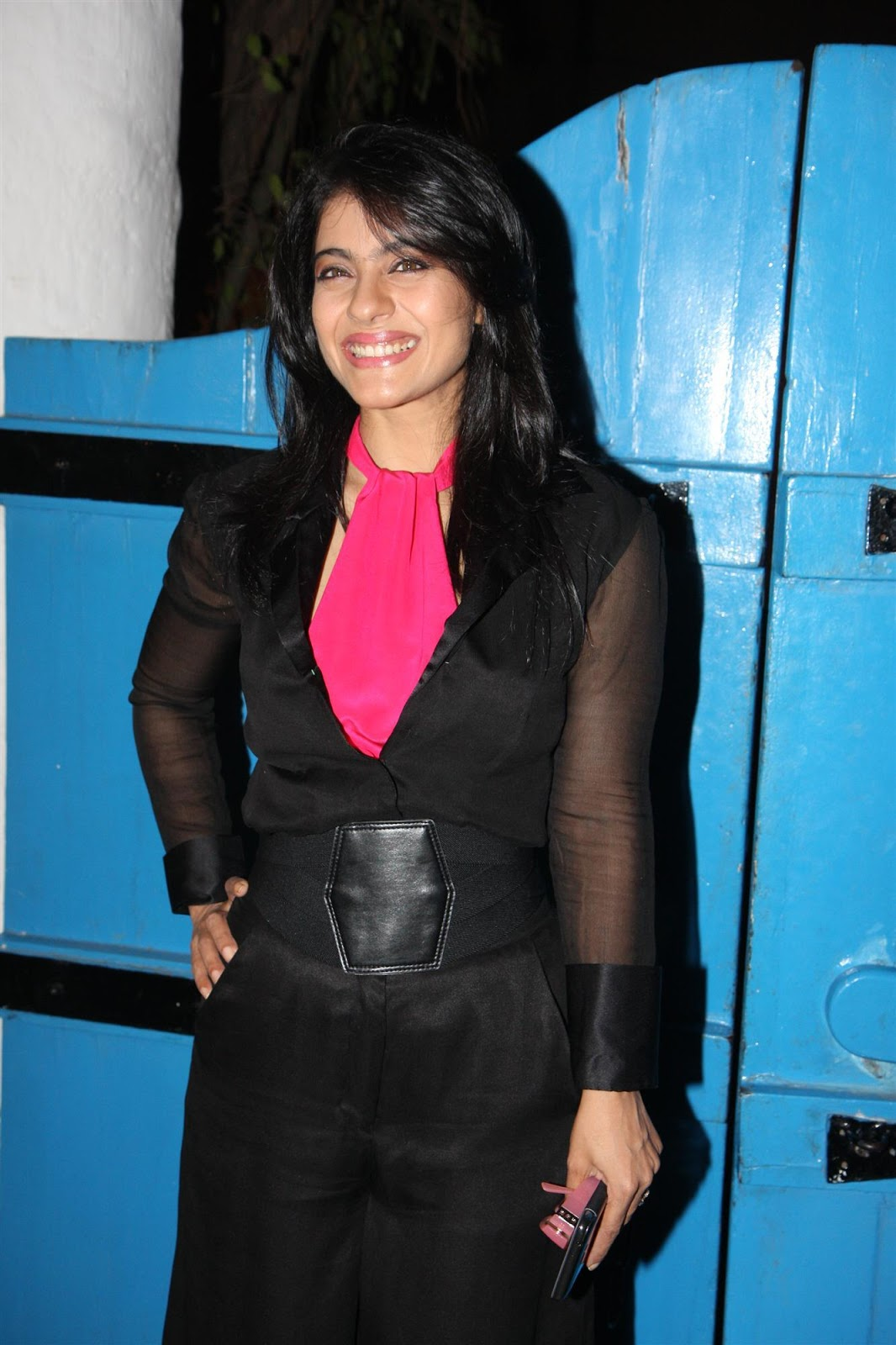 Kajol At Daboo Rtnani 2013 Calender Launch Stills
