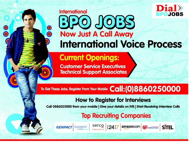 BPO Jobs in India: Dial BPO Jobs - Phone Searching System ...