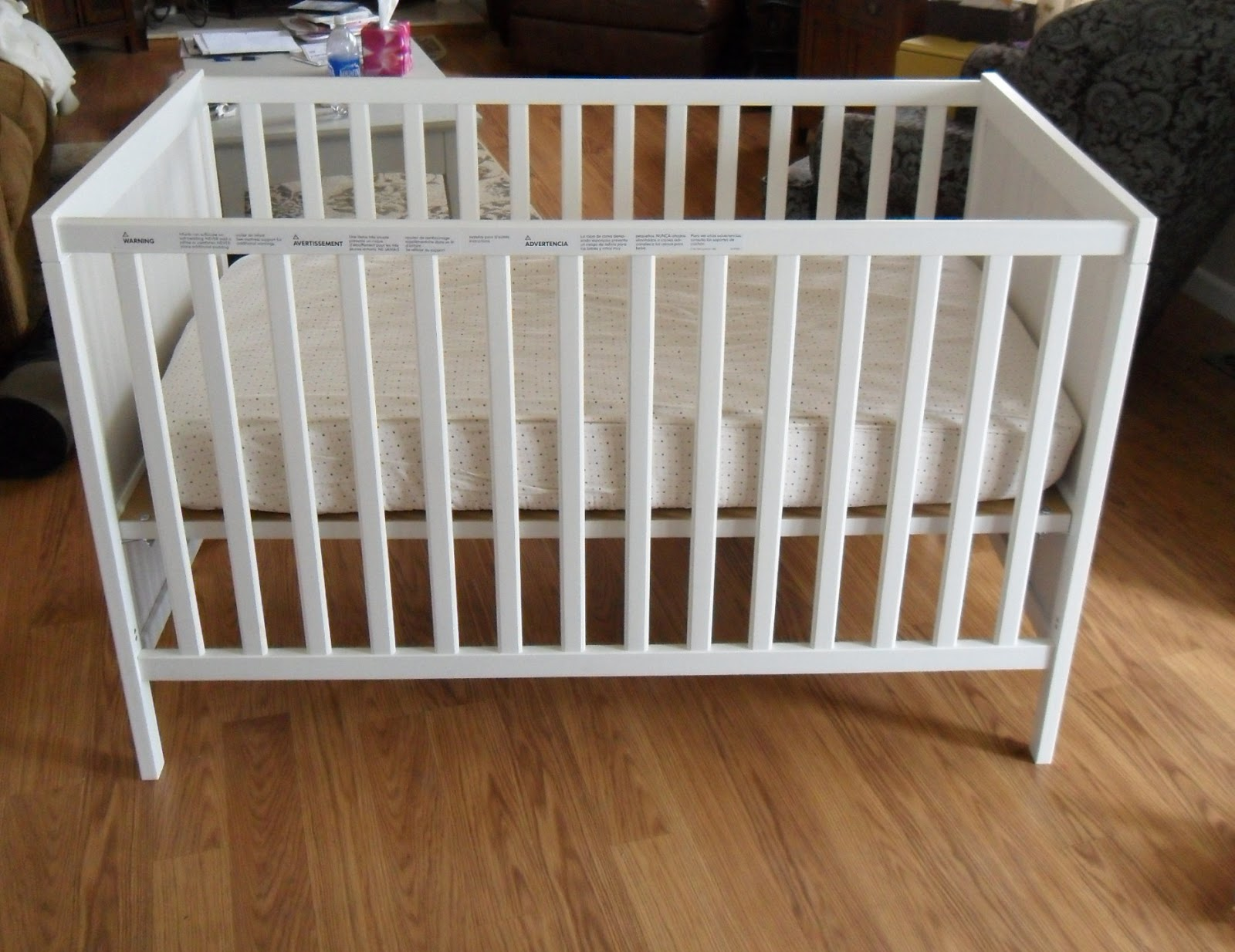 white cribs baby french pin on in annie paint linen nursery is of crib chalk for the country vintage rustic old clear with back painted safe wax dark sloan