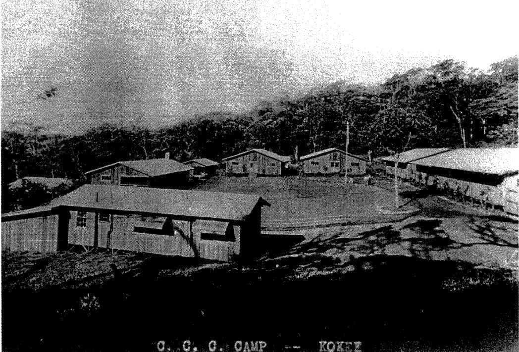 Kauai Civilian Conservation Corps Camp Civilian