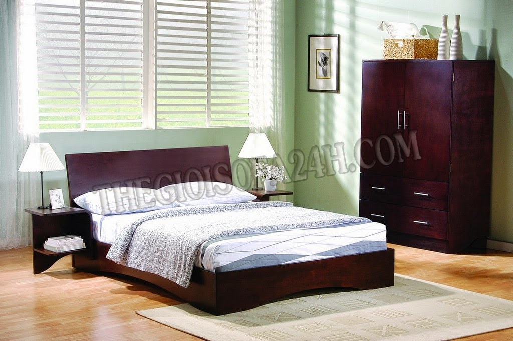 Giường ngủ GN051
