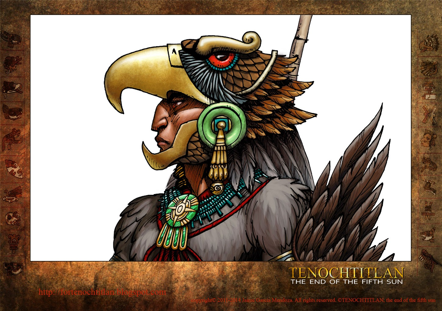 For Tenochtitlan, relation of a graphic novel: The Aztec ...