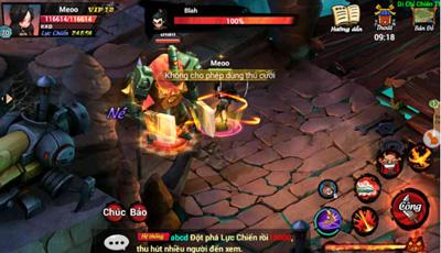 Hướng dẫn tham gia hoạt động Chiến Thần Phụ Thể trong game Lãng Khách