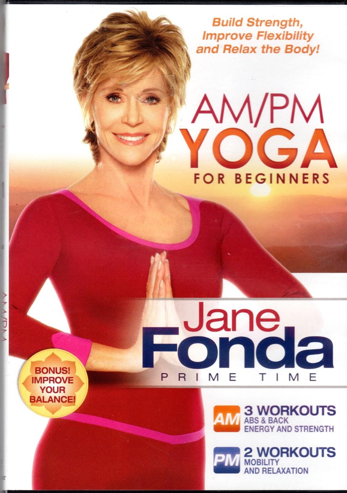 suit up and show up jane fonda am pm yoga. Black Bedroom Furniture Sets. Home Design Ideas