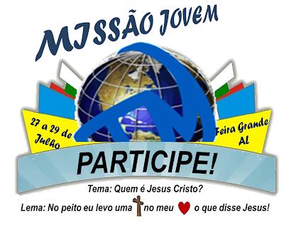 JM de Feira Grande/AL se prepara para receber as Missões Jovens da Diocese de Penedo.