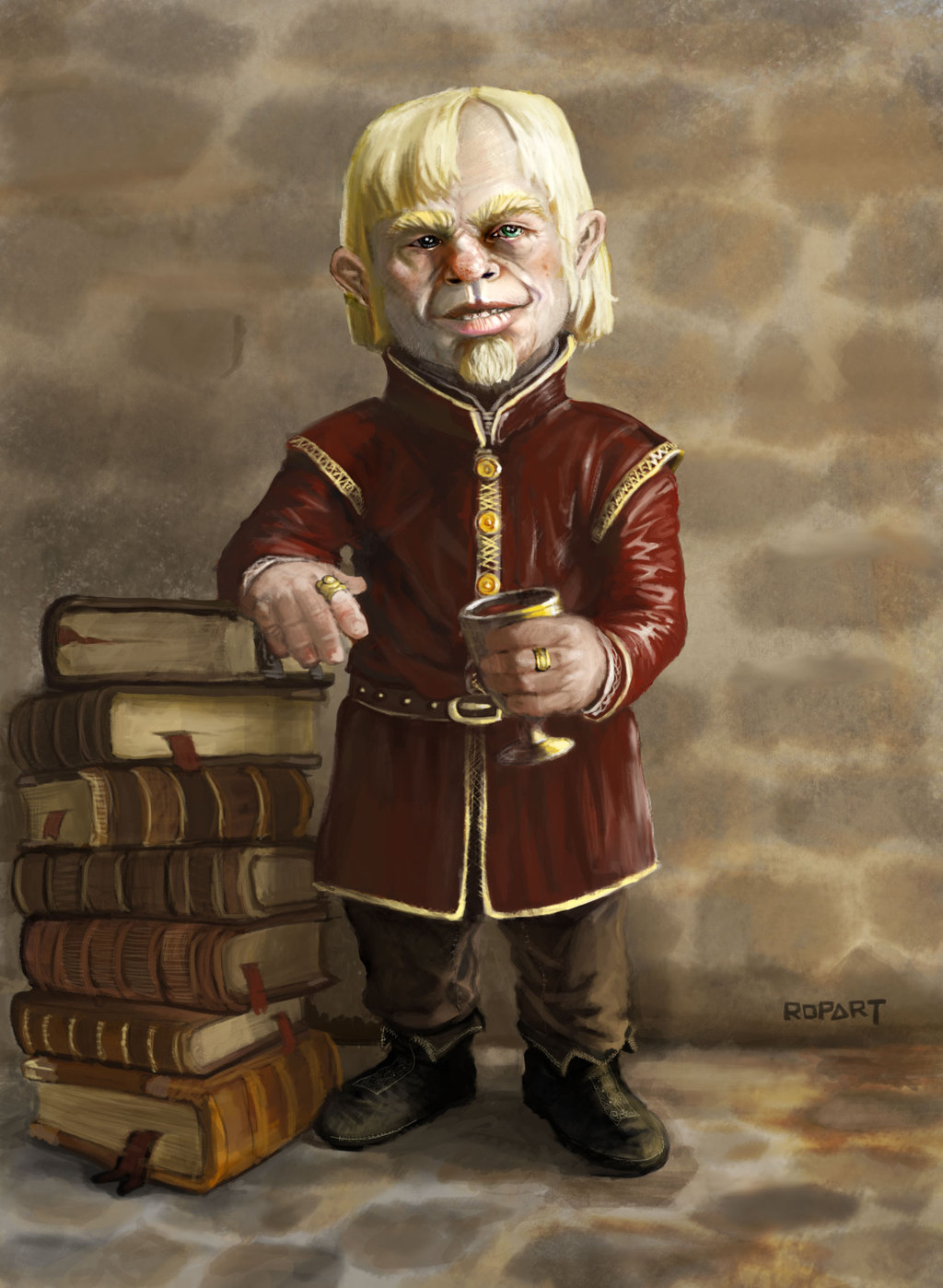 Tyrion Lannister BookTyrion Lannister Fan Art