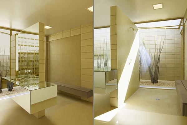 Arquitetando ideias banheiros cheios de luz for Black gold interior design