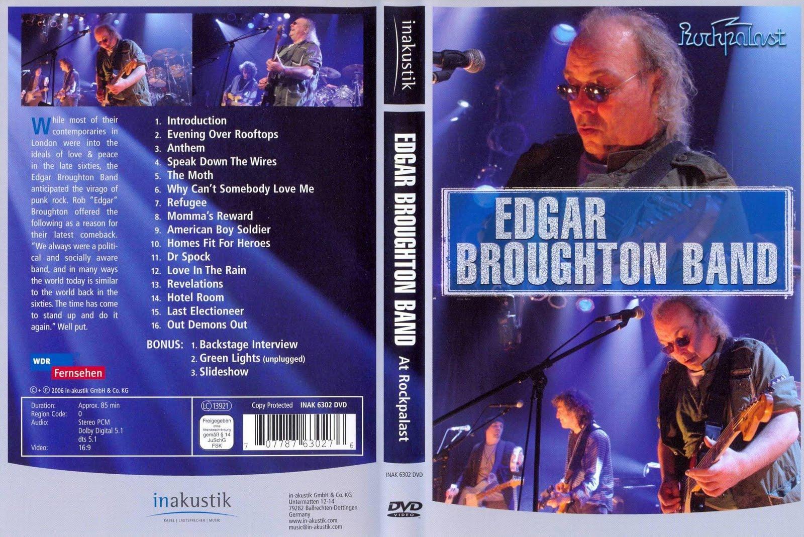 Jolly Joker`s Ohrenbalsam EDGAR BROUGHTON BAND, LIVE IN HAMBURG ...