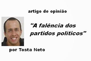 A falência dos partidos políticos
