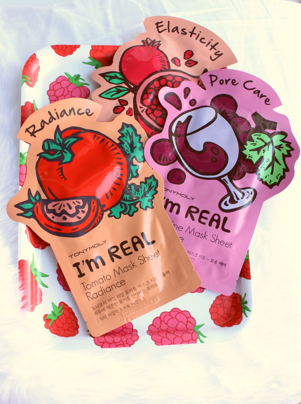 Tony Moly I'm Real Sheet Masks Review