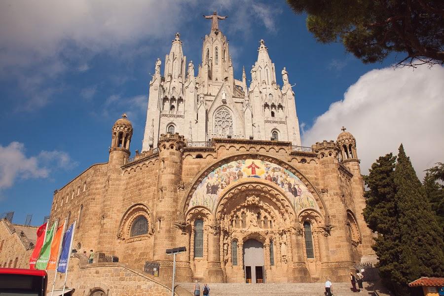Храм на горе Тибидабо, Барселона