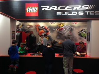Lego Racers Build and Test Station