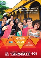 Ingresantes Examen Universidad San Marcos 2015 I resultados 21 de Setiembre