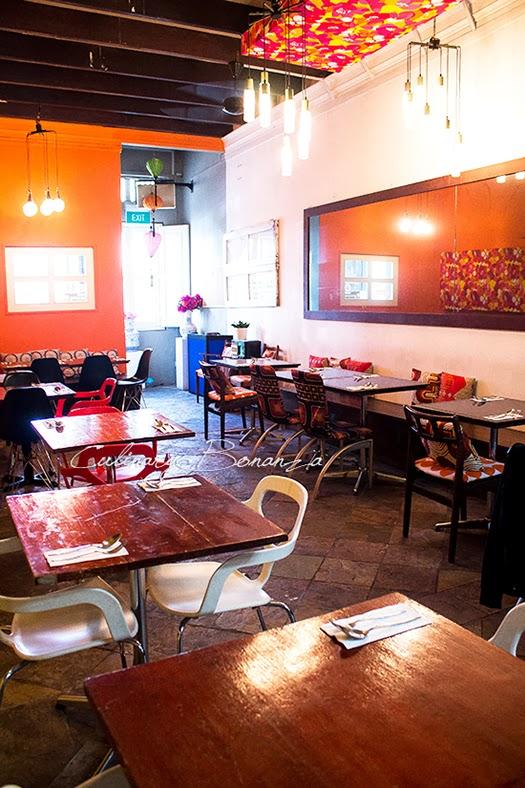 Eight Cafe & Bar Bukit Pasoh in Singapore