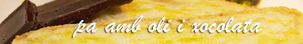 Pa amb oli i xocolata - Catalan food