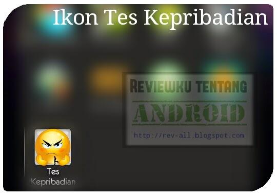 Ikon tes kepribadian - aplikasi android tes untuk mengetahui temperamen (rev-all.blogspot.com)