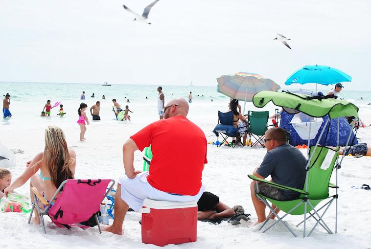 Siesta Beach, contea di Sarasota, Florida domenica 29 4 2013