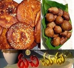 Pala Munjalu Sweet,Minapa Sunnundalu,Ariselu and Pakundalu Recipes in Ruchi Chudu – 2nd Mar