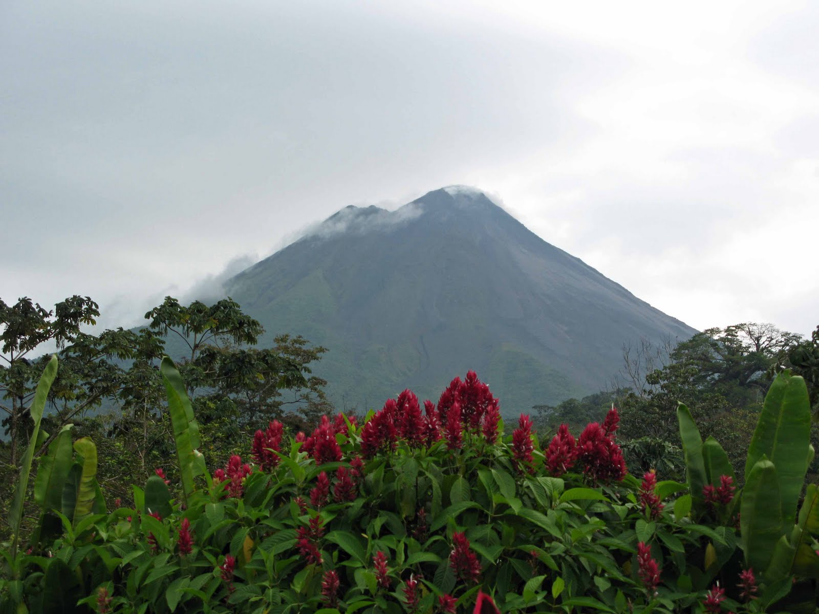 Arenal Volcano Costa Rica Memories By Tim Mary