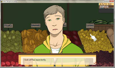 visual novel review of culina: The spirit of Cooking