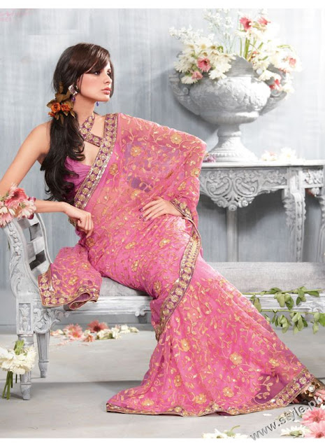 Latest-partywear-Saree-Collection